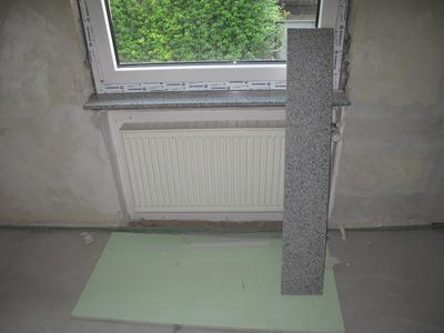Vorbereitungen Fensterlaibungen und Fensterbänke – DIY-Workblog.de