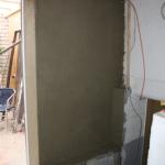 Verputzte Wandfläche