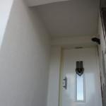 Scheibenputz Eingangsbereich