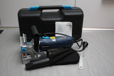 Einhell Flachdübelfräse BT-BJ 900: Lieferumfang