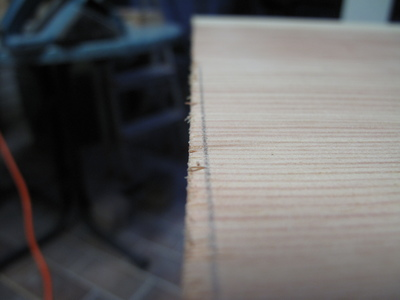 Zuviel Holz...