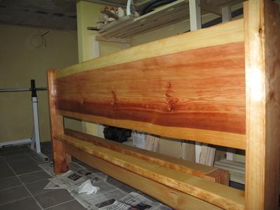 Holzbehandlung mit Leinölfirnis