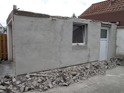 Garage: Abriss