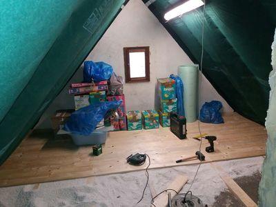 Dachboden: Rauspund